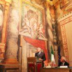 Il Ministro della Salute Ferruccio Fazio a Palazzo Giustiniani, Sala Zuccari, Senato della Repubblica (12 ottobre 2011)