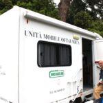 Unità mobile oftalmica della IAPB Italia onlus (studio in collaborazione con Oms e Cnr) a Latina nei mesi di maggio e giugno 2013, quando si sono effettuate visite oculistiche gratuite su un campione significativo della popolazione