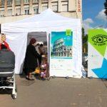 """Controlli retinici gratuiti in piazza (Roma, 3 novembre 2014, campagna """"Non perdiamoci la vista"""")"""