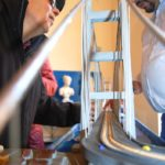 Modellino del Ponte sullo Stretto di Messina, Polo Tattile Multimediale, Catania, 20 febbraio 2010