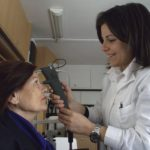 Controllo della pressione oculare (tonometria) per diagnosticare precocemente un eventuale glaucoma