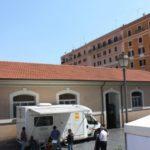 Camper attrezzato per i check-up oculistici gratuiti (Unità mobile oftalmica della IAPB Italia onlus)