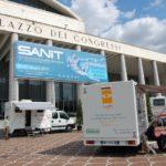 Camper oftalmico per check-up oculistici gratuiti della IAPB Italia onlus (Roma Eur, 22-25 giugno 2010)