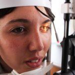 Controllo oculistico gratuito in una Unità mobile oftalmica della IAPB Italia onlus (Roma Eur, 14-17 giugno 2011)