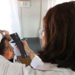 Controllo gratuito della pressione oculare a bordo della Unità mobile oftalmica della Agenzia internazionale per la prevenzione della cecità (Roma Eur, 12-15 giugno 2012)