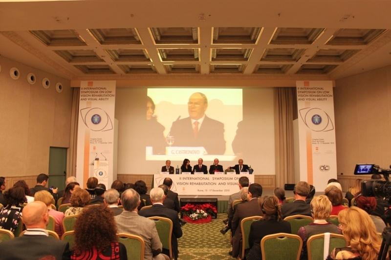 Inaugurazione del 15 dicembre 2010: discorso avv. Giuseppe Castronovo, Presidente della IAPB Italia onlus, al Secondo simposio internazionale su ipovisione e riabilitazione visiva
