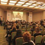 Inaugurazione del Simposio ipovisione (Roma, 15 dicembre 2010). Al centro: avv. Giuseppe Castronovo, Presidente IAPB Italia onlus