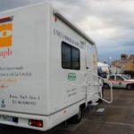 10 aprile 2009: Emergenza terremoto in Abruzzo. Unità mobile oftalmica della IAPB Italia onlus all'Aquila (4)