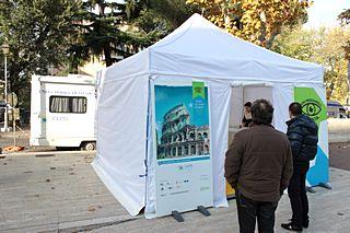 Campagna Non perdiamoci la vista a Roma