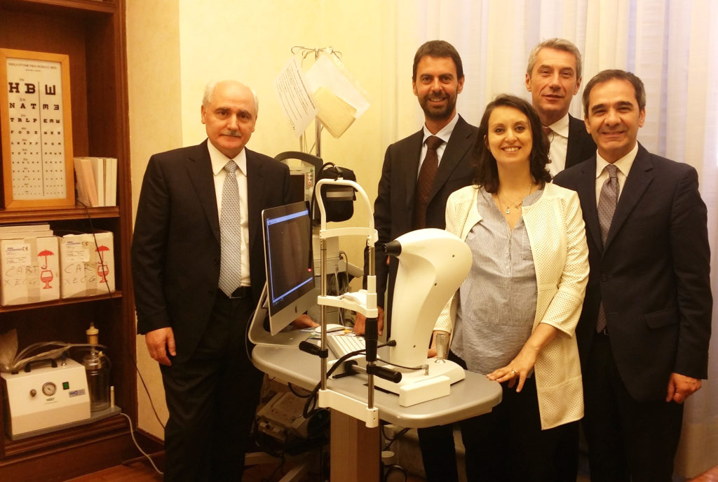 Check-up retinopatia diabetica in Senato