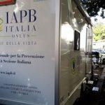 Unità mobile oftalmica della IAPB Italia onlus (Roma Testaccio, 12 ottobre 2017)