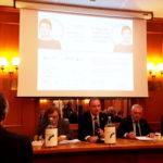 Relatori della conferenza stampa organizzata da Diabete Italia onlus (Roma, 6 novembre 2017)
