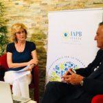 Livia Azzariti col prof. Emilio Balestrazzi (videochat del 25 giugno)
