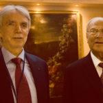 Il Presidente della IAPB Italia onlus Giuseppe Castronovo (a destra) e il Vicepresidente Michele Corcio