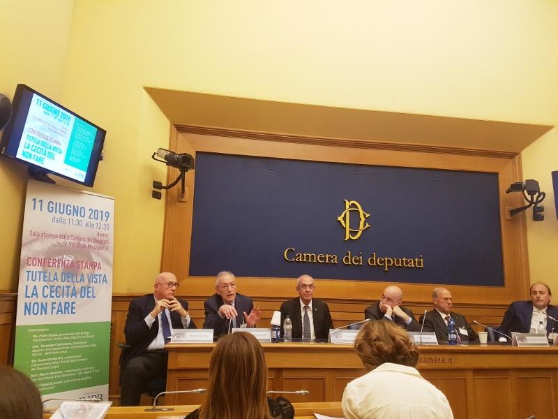 Conferenza stampa alla Camera