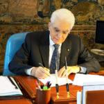 Il Capo dello Stato Sergio Mattarella (foto: Quirinale.it, part.)