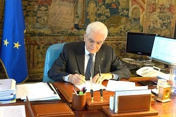 Il Capo dello Stato Sergio Mattarella (foto: Quirinale.it)