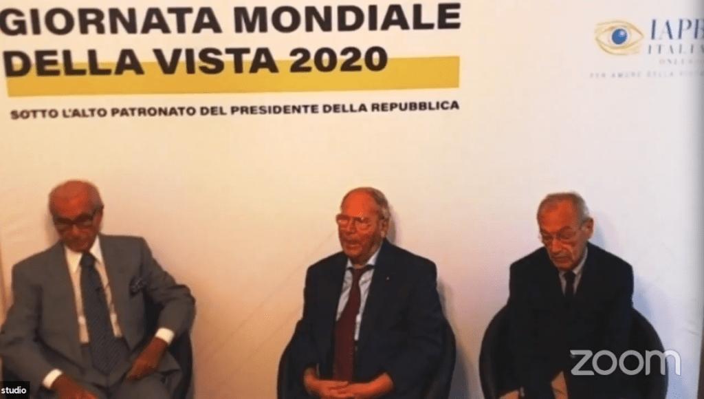 Da sinistra: Mario Stirpe, Giuseppe Castronovo, Filippo Cruciani