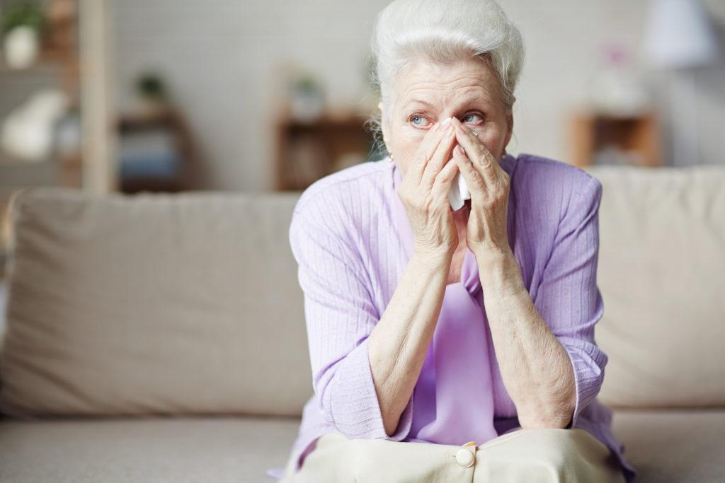 malattie oculari e depressione